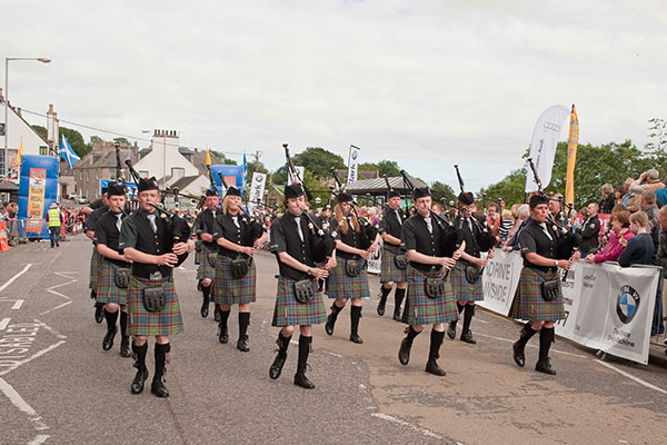 2012 Ellon Pipe Band
