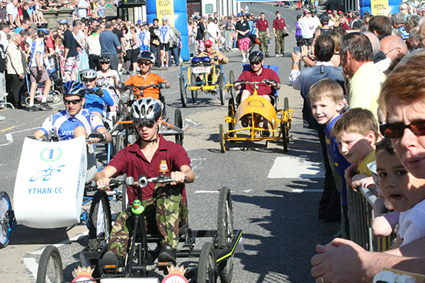 Ellon Pedal Car Race Fun